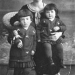 Edith and Irmgard Michel with their mother Eleanor, 1934